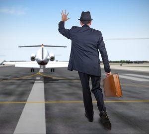 Mellemlanding med fly